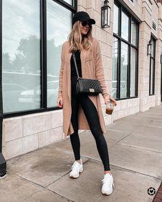 Spanx Faux Leather Leggings, Amazon Essentials, Amy Jackson, Fashion Jackson, Sweater Fashion, Instagram Fashion, Sweater Cardigan, Autumn Fashion, Normcore