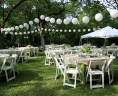 como colocar luces en una boda - Buscar con Google