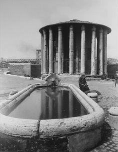 Rome, tempio di Vesta, 1890
