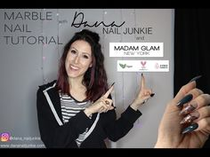 Marble Nails Tutorial, Madam Glam, Image Categories, Nail Tutorials, I Decided, Collaboration, Youtube, Color, Colour