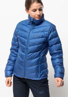 Neckermann Damen Jack Wolfskin Daunenjacke HELIUM WOMEN – hält besonders  warm blau   04055001916405 929e78ef25