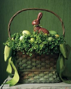 My mom, Colleen, loves this basket....  if anyone has one like it or sees one like it, please let me know! :)