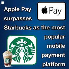 Apple Pay surpasses Starbucks as the most popular platform in America, per report