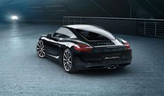 Porsche 911 carrera and boxster get special 'black edition, There's a new version of the po