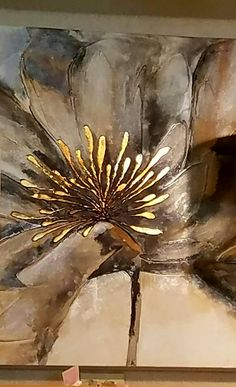 Art abstrait Une abstraction qui nourrit l& . Abstract Flowers, Abstract Art, Flower Artwork, Abstract Painters, Pintura Graffiti, Graffiti Art, Gold Leaf Art, Acrylic Art, Resin Art