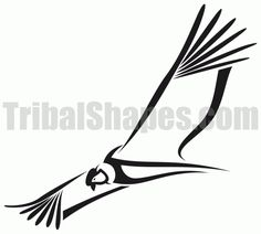 Free tribal tattoo design for 'Condor Find more Animals tattoos on this category full of tribal designs! Tribal Tattoos, Tatoos, Pentagram Tattoo, Parrot Tattoo, Andean Condor, Free Tattoo Designs, 1 Tattoo, Animal Logo, Native American Art