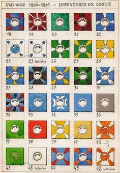 Bandiere della fanteria di linea