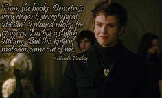 Tumblr+Twilight | Charlie Bewley on Demetri