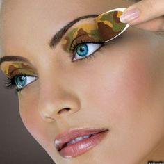 Army camo makeup