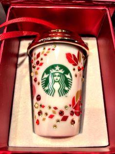 Swarovski Starbucks Ornament 2013 (Yep, I have it!)