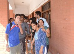 #Delhi #NorthCampus Students during the #WorldOzoneDay Celebrations!