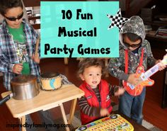 musical party games