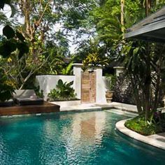 Heavenly villa with pool in Bali surrounded by nature / Feel home byCOCOON.com #COCOON Dutch designer brand