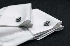 Elipse cufflinks by Clara Ho Designer Cufflinks, Signet Ring, Handcrafted Jewelry, Wedding Rings, Jewels, Accessories, Handmade Chain Jewelry, Handmade Jewelry, Jewerly