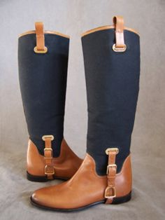 Ralph Lauren riding boots. Drool.