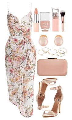 A fashion look from May 2016 featuring zimmermann dress, leather sandals and red handbags. Browse and shop related looks. Dressy Outfits, Mode Outfits, Stylish Outfits, Look Fashion, Womens Fashion, 80s Fashion, Fashion 2020, Fashion News, Korean Fashion