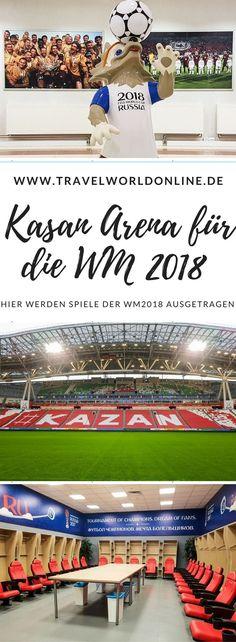 Die Kasan Arena ist einer der Austragungsorte der Fussball WM 2018. Hier erfahrt Ihr alles, was Ihr darüber wissen müsst. #KasanArena #Fussball #FussballWM #Fussballweltmeisterschaft2018