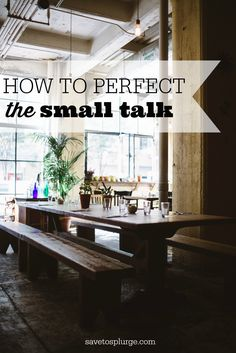 After years of work events and social get-togethers, I've learned a few tips on how to small talk. Don't dread the small talk, make it something fun!