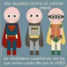 15 de febrero Día mundial contra el cáncer infantil.