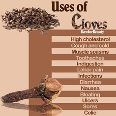 Many uses of cloves