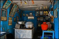 #Blue #Interior  Madurai (India)