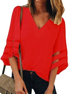 MILIMIEYIK Blouse Long Sleeve Casual Dresses for Women Womens O-Neck Print Shirt Pullover Irregular Hem Tops Valentines Day
