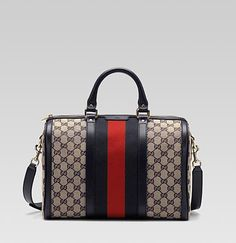 I have 2 authentic vintage Gucci bags similar to this one from the 80's...classic pieces!