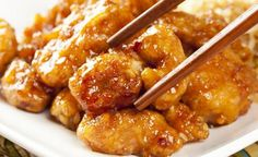 Pollo a la naranja A extra yummy orange chicken recipe that the kids will love this meal. Chinese Orange Chicken Recipe from Grandmothers Kitchen. Pollo a la naranja A extra yummy orange ch Ww Recipes, Slow Cooker Recipes, Asian Recipes, Crockpot Recipes, Chicken Recipes, Dinner Recipes, Cooking Recipes, Healthy Recipes, Cooking Time