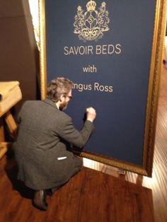 Angus Ross at Savoir Beds Shanghai