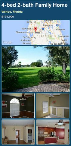 4-bed 2-bath Family Home in Valrico, Florida ►$174,900.00 #PropertyForSale #RealEstate #Florida http://florida-magic.com/properties/70773-family-home-for-sale-in-valrico-florida-with-4-bedroom-2-bathroom