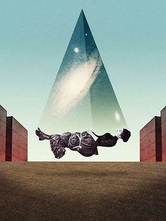 Collage love. By Julien Pacaud.