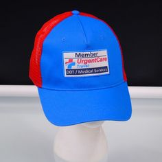 14d56f6775d Urgent Care Travel Member DOT Medical Services Truckers Hat Snap Back Adj  One Sz  Unbranded  BaseballCap
