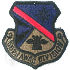 552d AWAC DIVISION PATCH ミリタリーワッペン NO.3 米軍放出品 税抜 500円