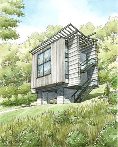 Eye Level Views | Christopher Illustration: Architectural Rendering
