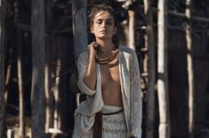 visual optimism; fashion editorials, shows, campaigns & more!: à la plage: andreea diaconu by lachlan bailey for vogue paris may 2015