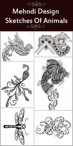 10 Mehndi Design Sketches Of Animals That Are Awe-inspiring