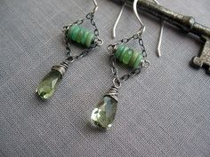 Chrysoprase & Green Quartz | Flickr - Photo Sharing!