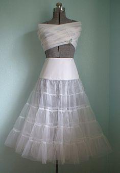 Crinoline Petticoat Sewing Pattern by Sew Chic Pattern Company