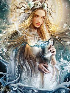 Frigg Goddess Reading by Karina