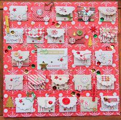 Funkelnder Adventskalender von Nadine erdbeerloeckchen.blogspot.de | #WeihnachtenKannKommen www.danipeuss.de