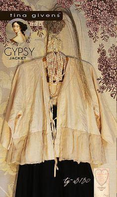 Gypsy Jacket pdf pattern