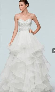 Watters Meri wedding dress currently for sale at 45% off retail.