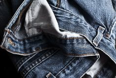 Just in case you're the type of person who would always choose to wear jeans (aren't we all!), here's a guide of how to wear jeans on any occasion so you never have to go anywhere without a great pair of denim. Thigh Rub, Recycle Jeans, Repurpose, Size 16 Jeans, Thunder Thighs, Textiles, Best Jeans, Fashion Company, Clothing Company