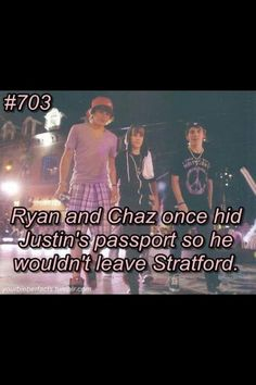 Aww, that's cute! Ryan and Chaz didn't want their best friend to leave them behind