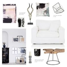 """""""#1189"""" by bellamarie ❤ liked on Polyvore featuring interior, interiors, interior design, home, home decor, interior decorating, Three Hands, H&M, Aviva Stanoff and Arteriors"""