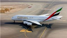 Emirates has recently upgraded the aircraft on its London Gatwick to Dubai route to a larger Airbus increasing the daily seat capacity by Emirates Airline, Emirates Flights, A380 Aircraft, Airbus A380, Doha, Glasgow Airport, Dubai Airport, Distance, Science