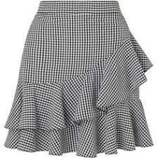 Miss Selfridge Black Gingham Ruffle Mini Skirt African Fashion Skirts, African Dress, Frilly Skirt, Ruffled Skirts, Skirt Outfits, Dress Skirt, Short Skirts, Gingham, Fashion Outfits