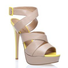 Just bought them... perfectly nude and with a pop of neon highlighter! <3
