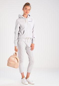 CLASSIC - Hættetrøjer - mottled grey Champion hættetrøje - grå