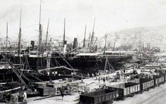 Puerto de Alicante , año 1897, fotografo desconocido